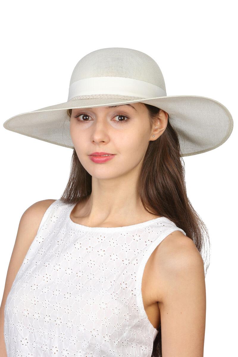 Шляпа классическая молочная