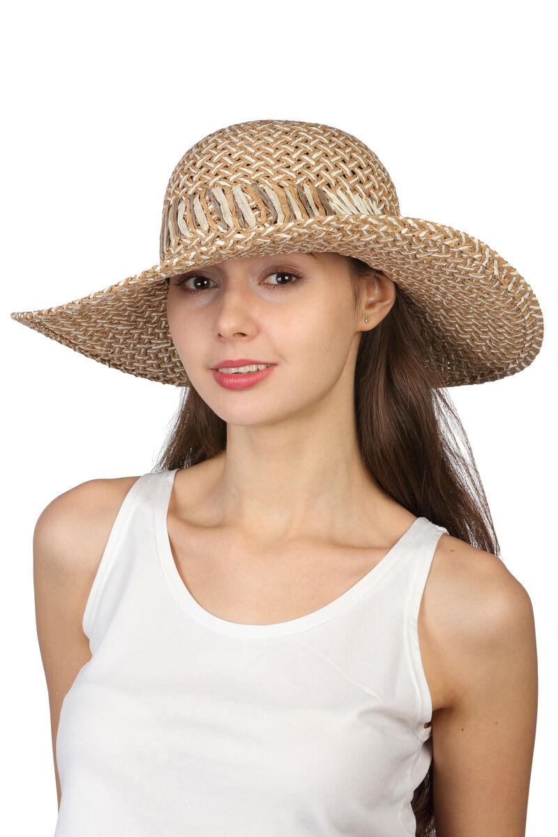 Шляпа классическая бежевая