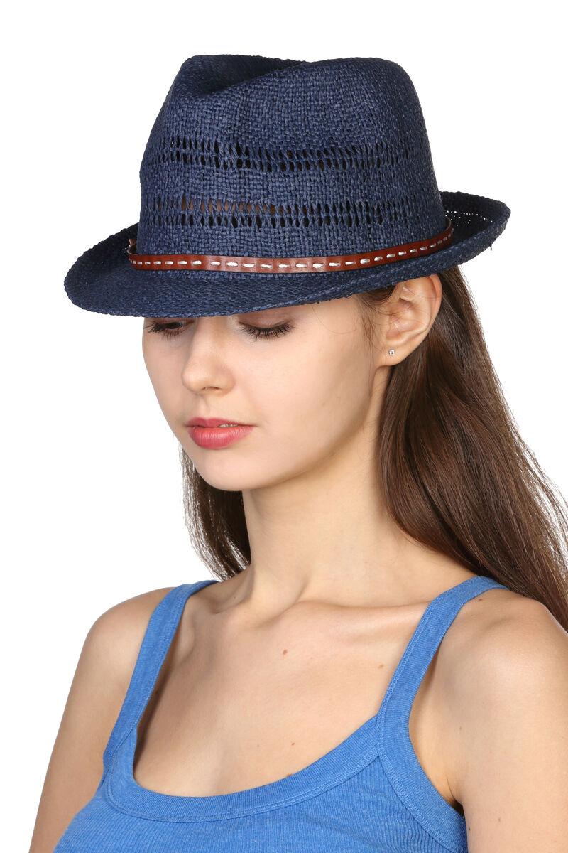 Шляпа унисекс синяя