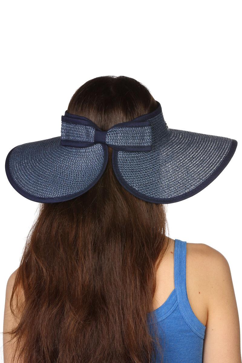 Шляпа без тульи синяя