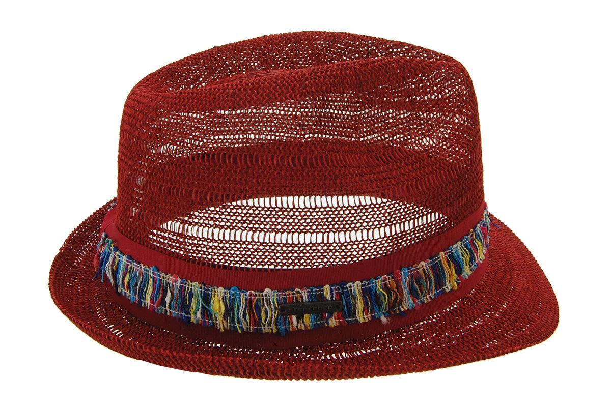 Шляпа унисекс красная