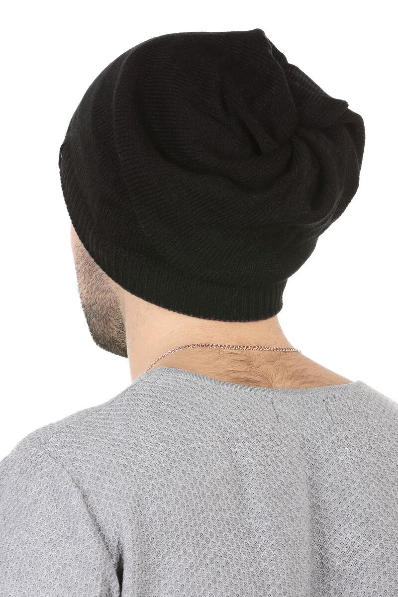 Двухсторонняя шапка-баф серая