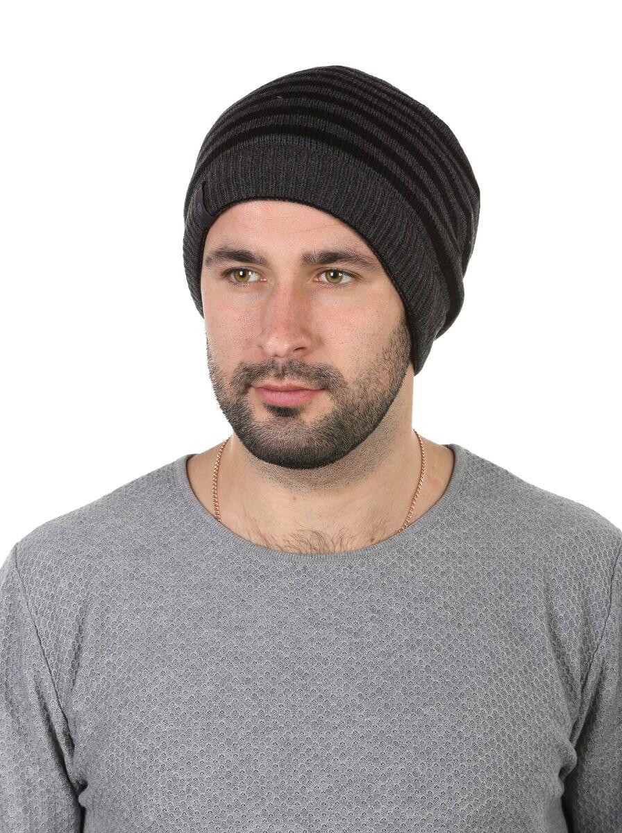Двухсторонняя шапка-баф черная