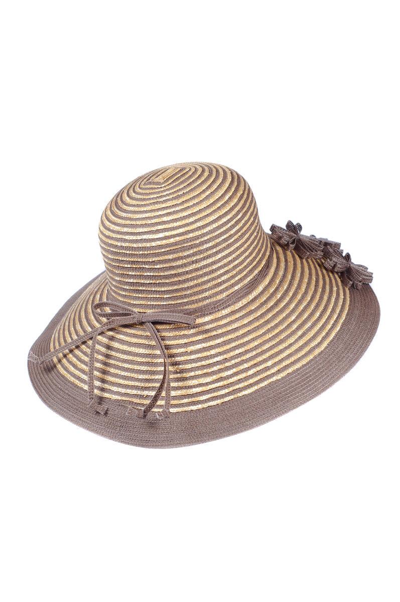 Шляпа летняя солома+ котон