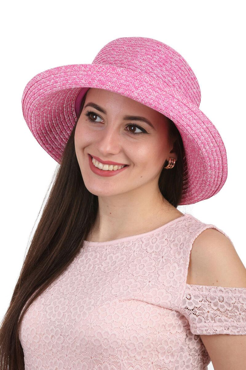 Шляпа летняя женская  розовая
