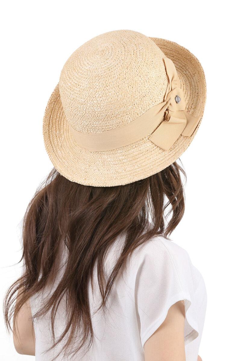 Шляпа из соломы женская асимметричная