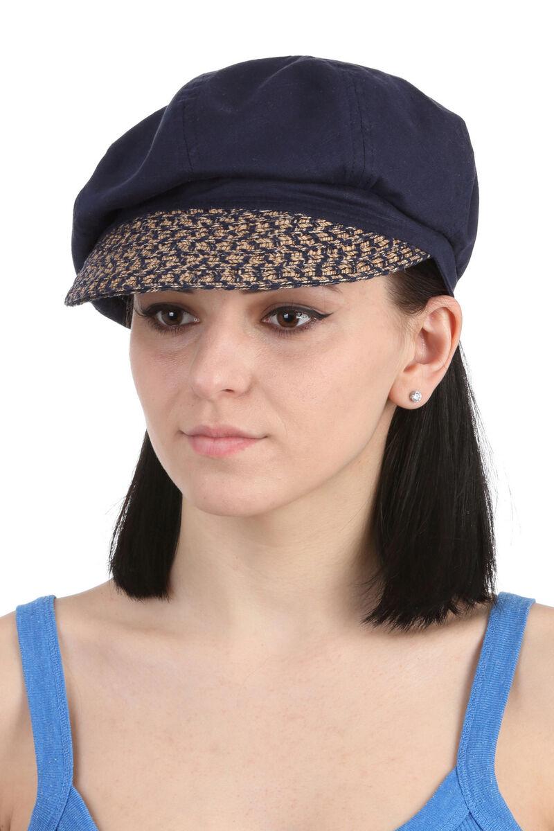 Кепка летняя женская синяя