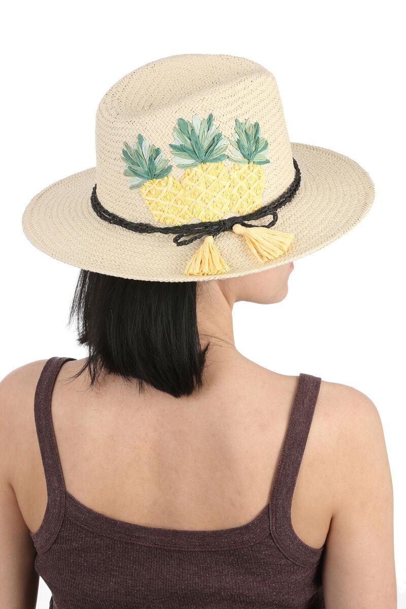 Шляпа федора с ананасами