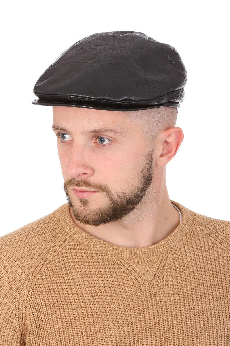 Кепка меховая черная мужская