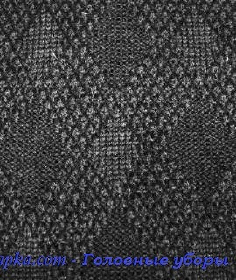 Кепка мужская трикотажная с кожаным козырьком