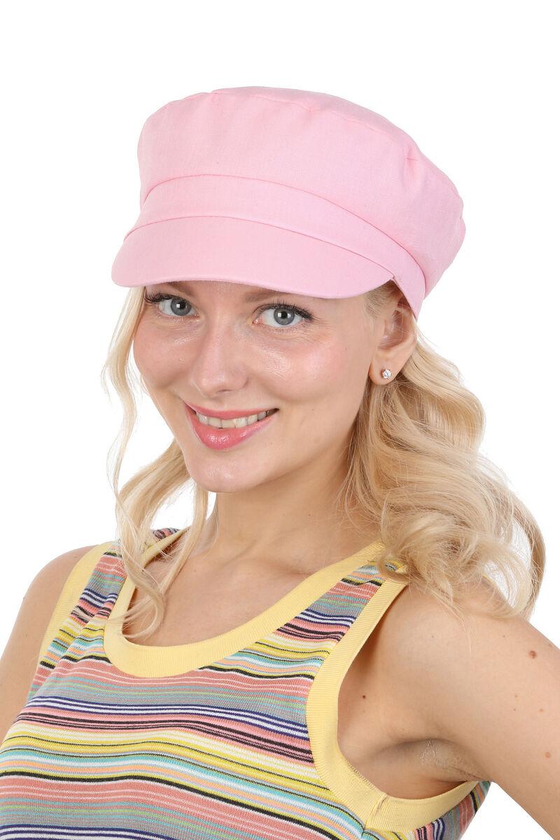 Картуз летний женский розовый