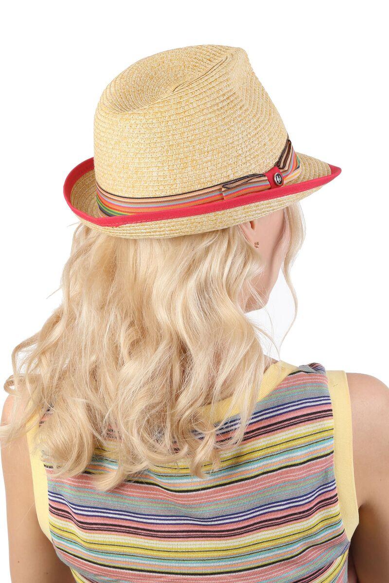 Шляпа трилби унисекс
