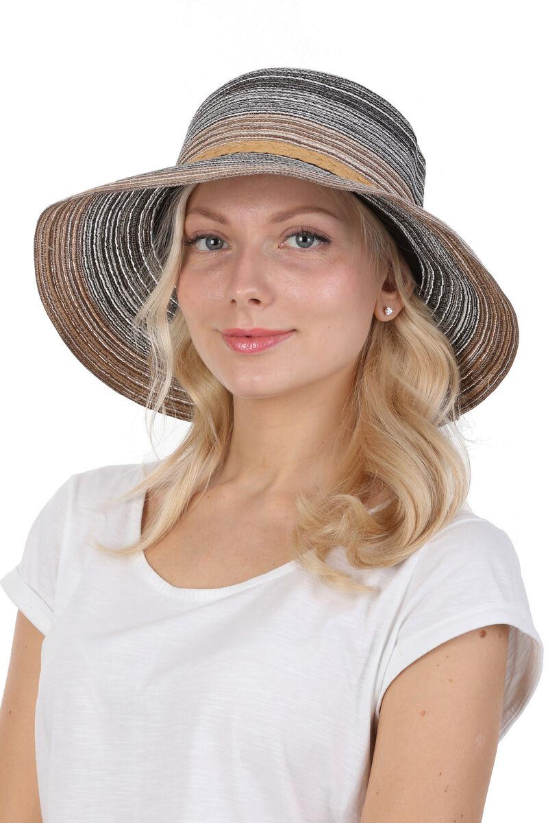 Шляпа с соломенной лентой