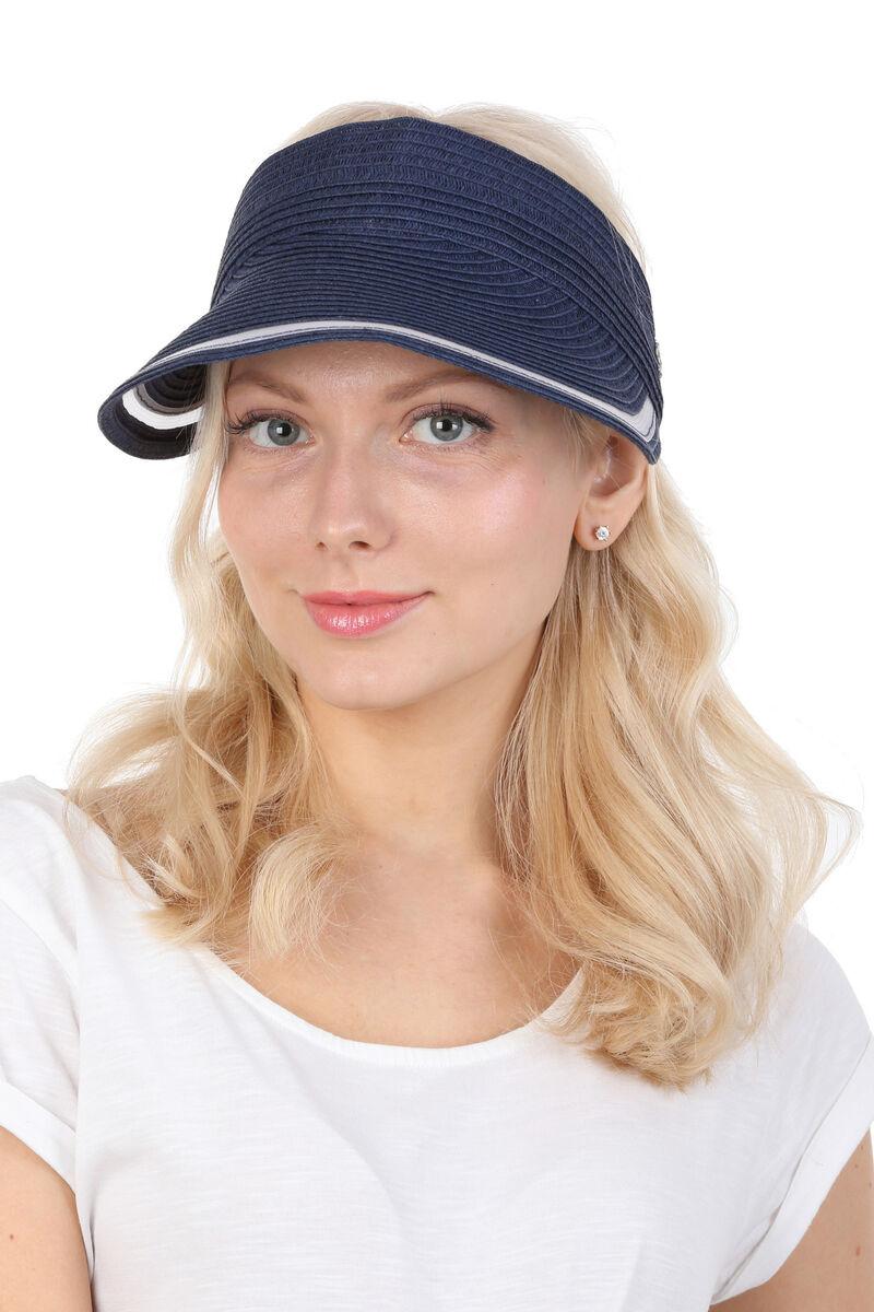 Козырек летний женский синий
