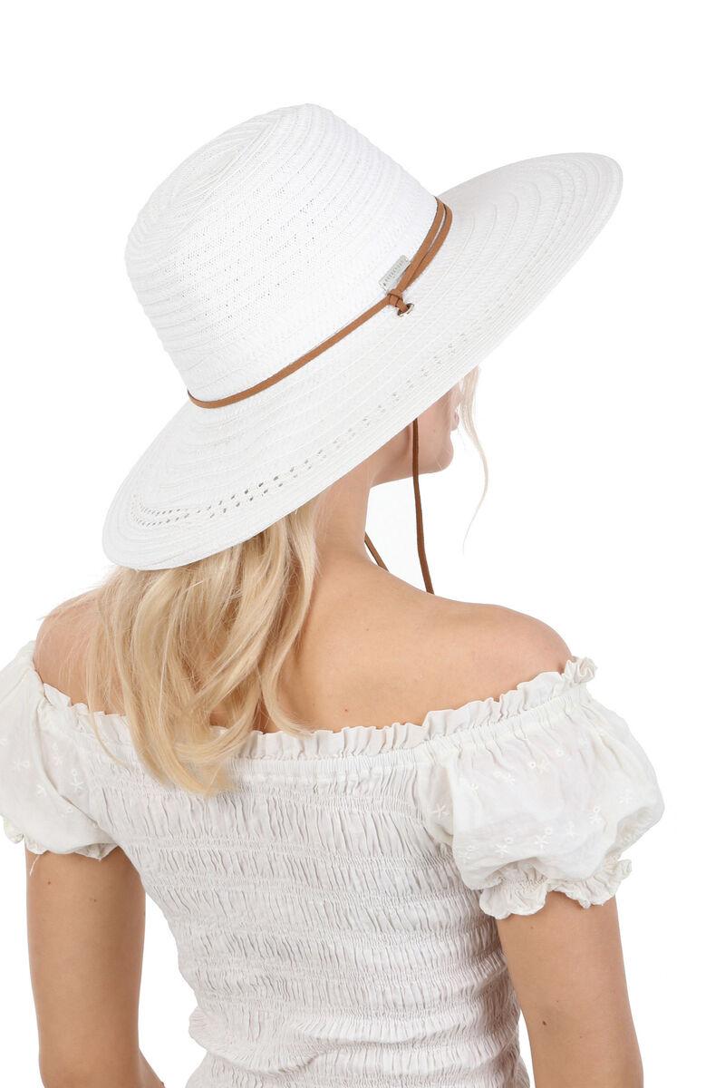 Шляпа белая в ковбойском стиле
