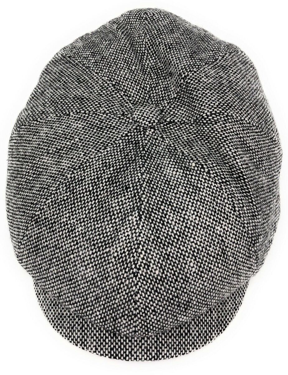 Кепка мужская восьмиклинка из твида