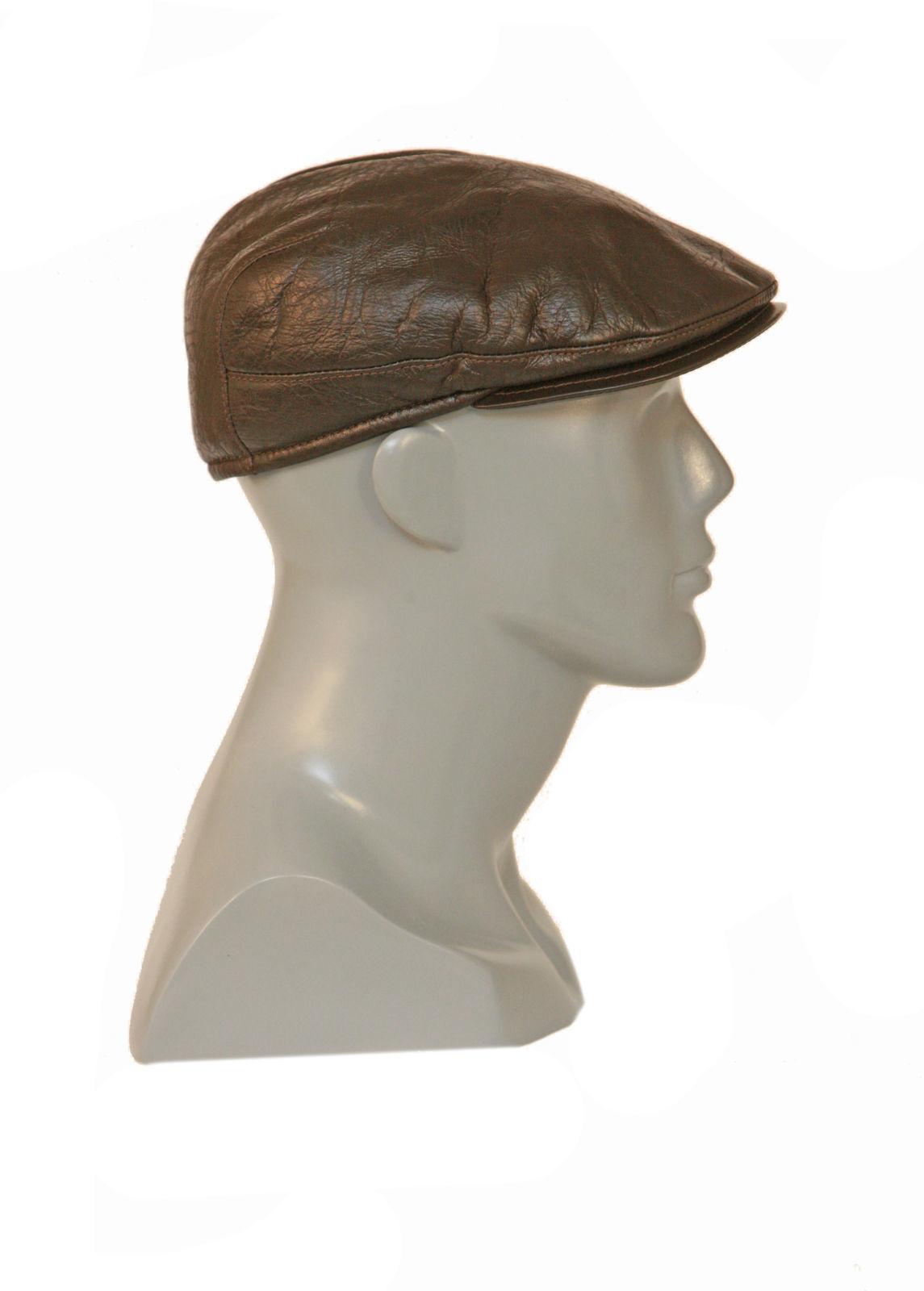 Кепка меховая коричневая мужская