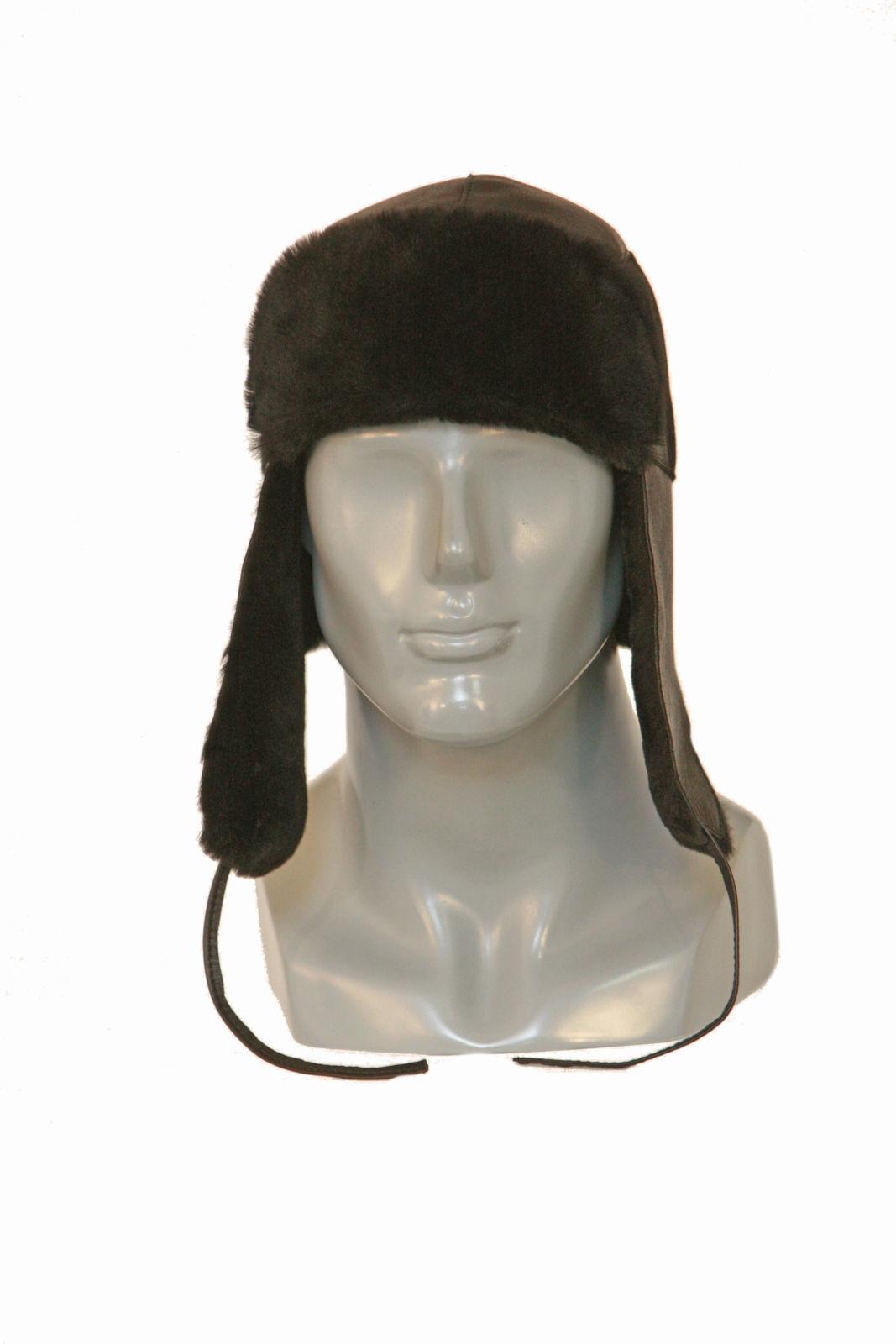Шапка-ушанка - это современный зимний головной убор, выполненный из натурального меха мутон
