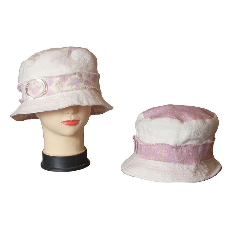 Шляпа тканевая сиреневаяизображение
