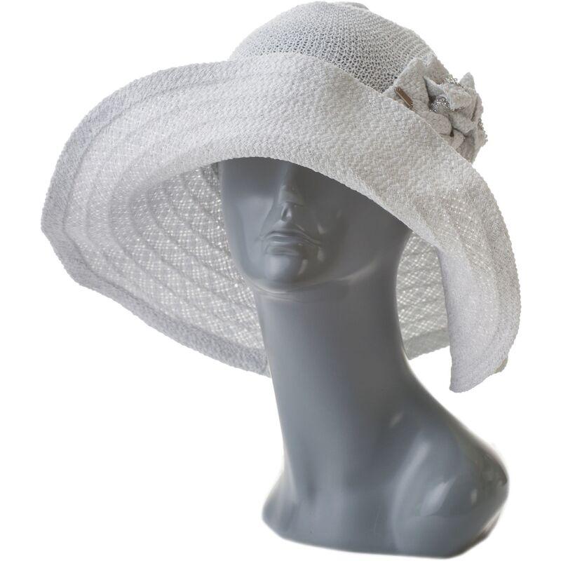 Летняя шляпа женская с камнями Сваровскифото