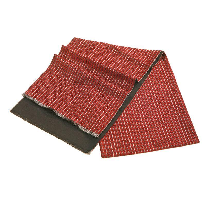 Шарф мужской шелковый бордовыйизображение