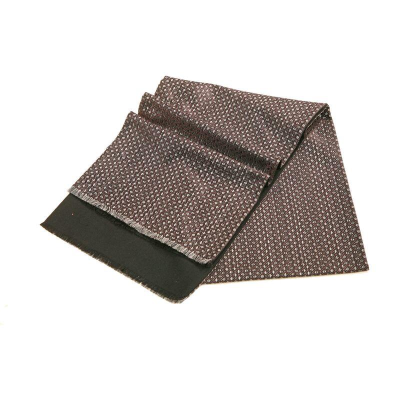 Шарф мужской серый шелковыйизображение