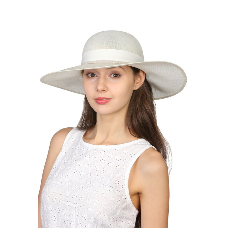 Шляпа классическая молочнаяфото