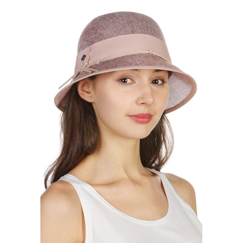Шляпа с маленькими полями розоваяфото