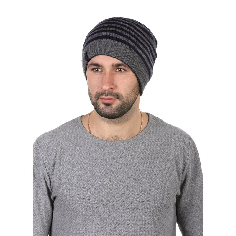 Двухсторонняя шапка-баф синяяизображение