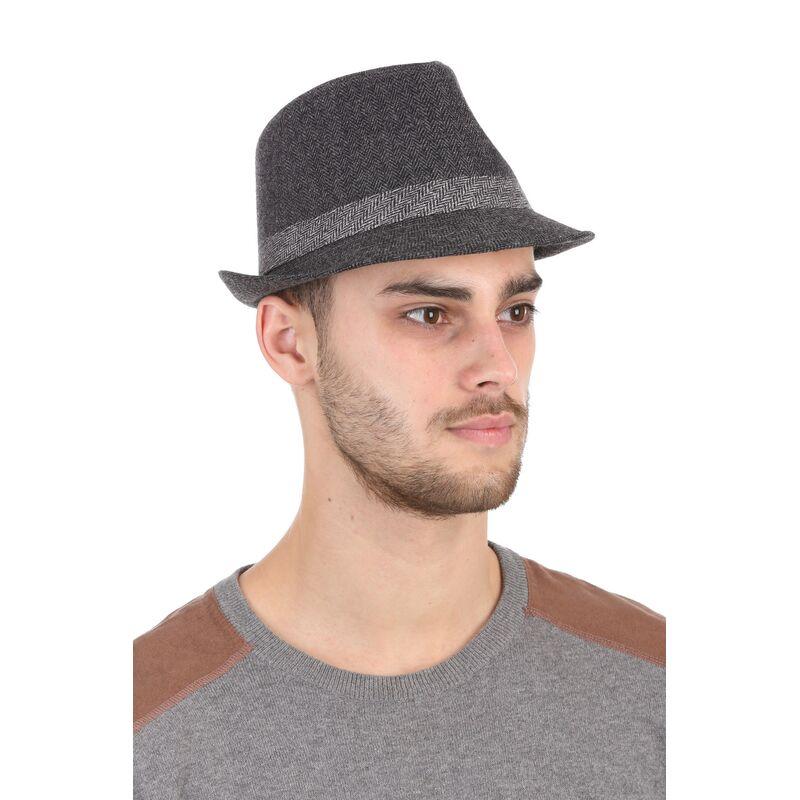 Шляпа мужская сераяизображение