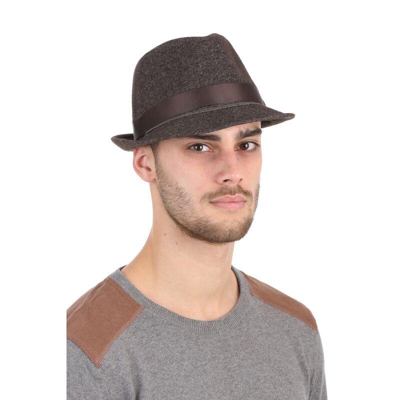 Шляпа мужская коричневаяфото
