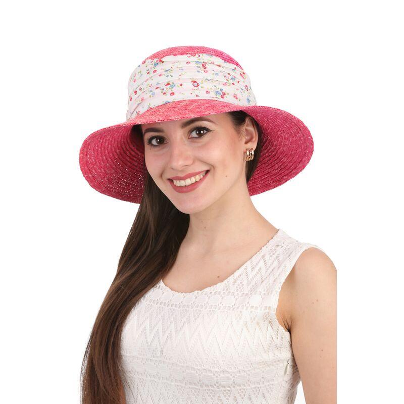 Шляпа соломенная с лентойизображение