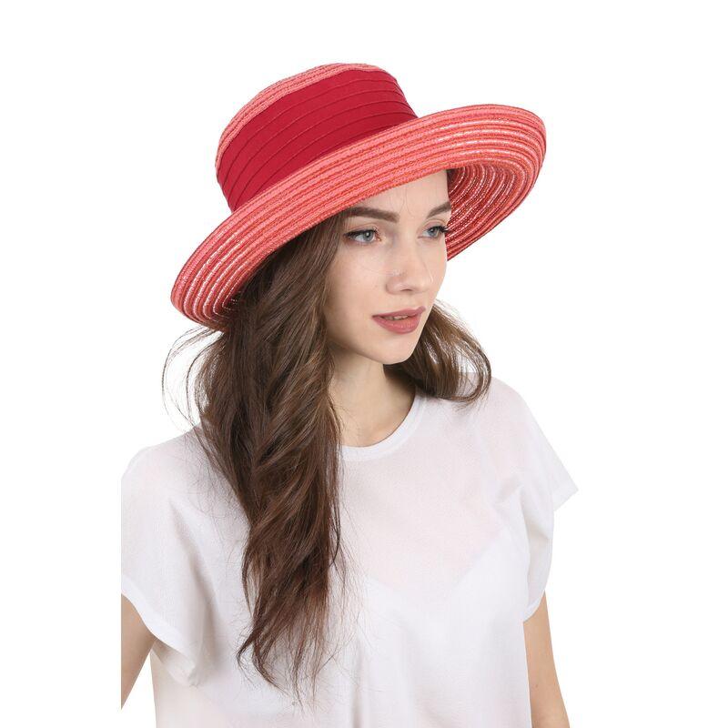 Элегантная летняя шляпа краснаяизображение