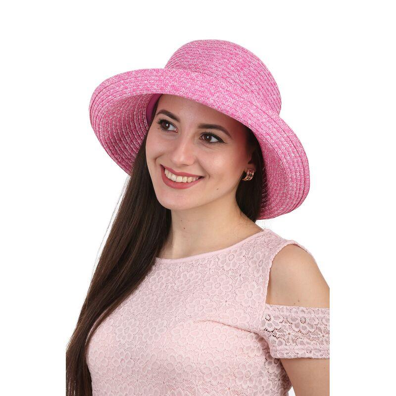 Шляпа летняя женская  розоваяизображение