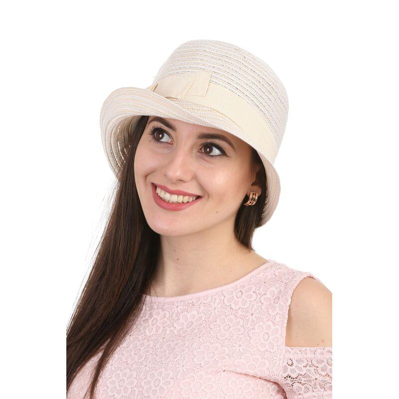 Шляпа асимметричная молочнаяфото