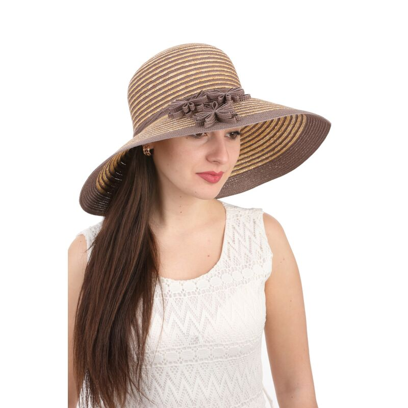 Шляпа летняя солома+ котонфото