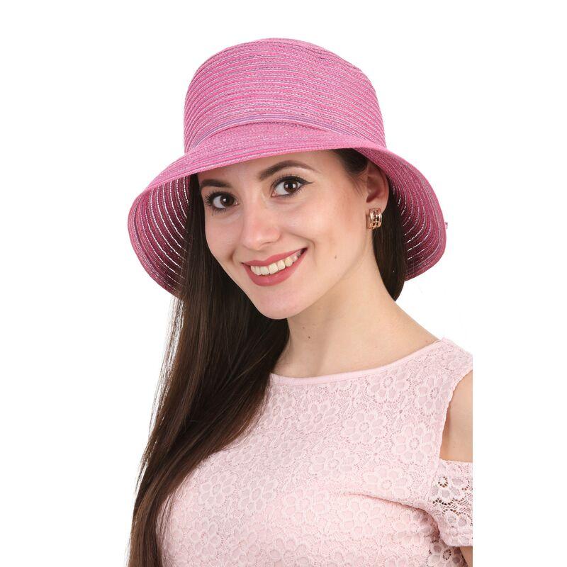 Женская панама розоваяизображение