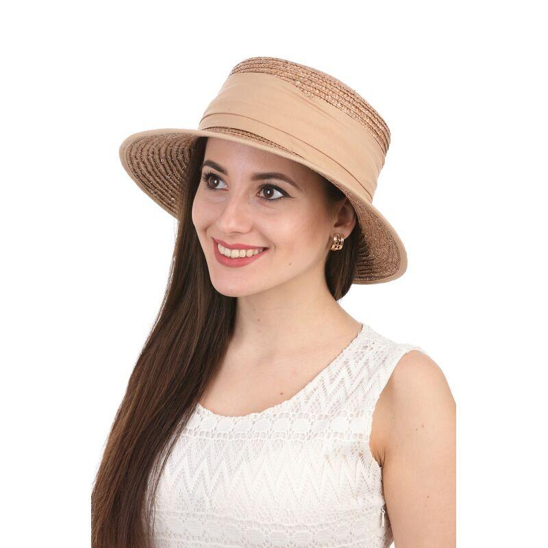 Шляпа летняя из натуральной соломыизображение