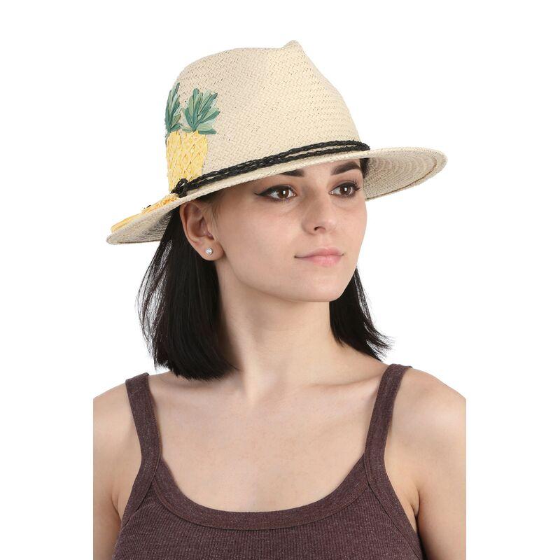 Шляпа федора с ананасамифото