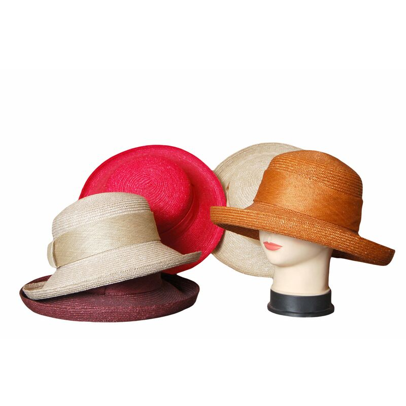 Шляпа из натуральной соломыфото