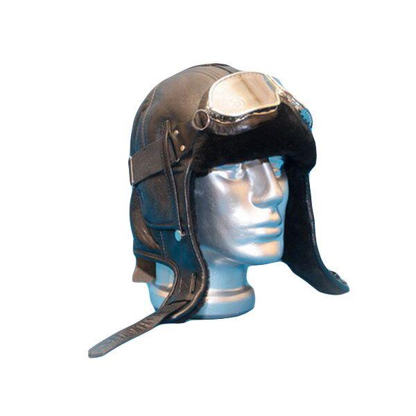 Зимняя шапка-шлем из натуральной овчиныизображение