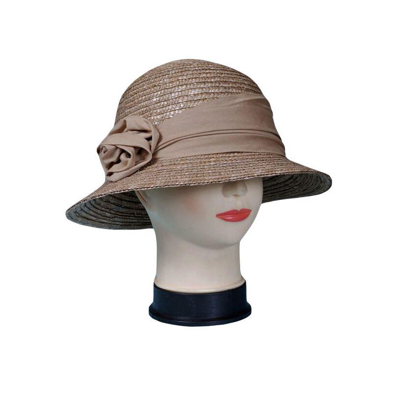 Шляпа соломенная классическая коричневаяизображение