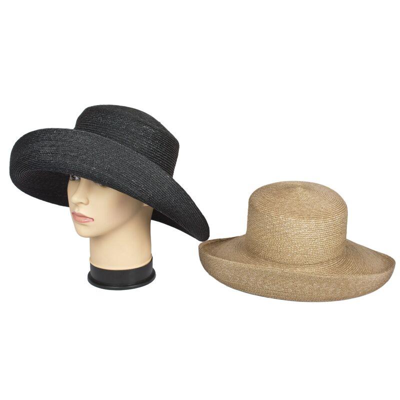 Соломенная шляпа с оригинальным украшениемфото