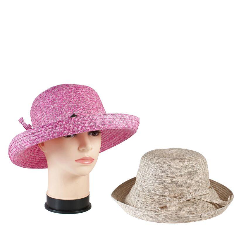 Шляпа летняя с поднятыми по кругу полямиизображение