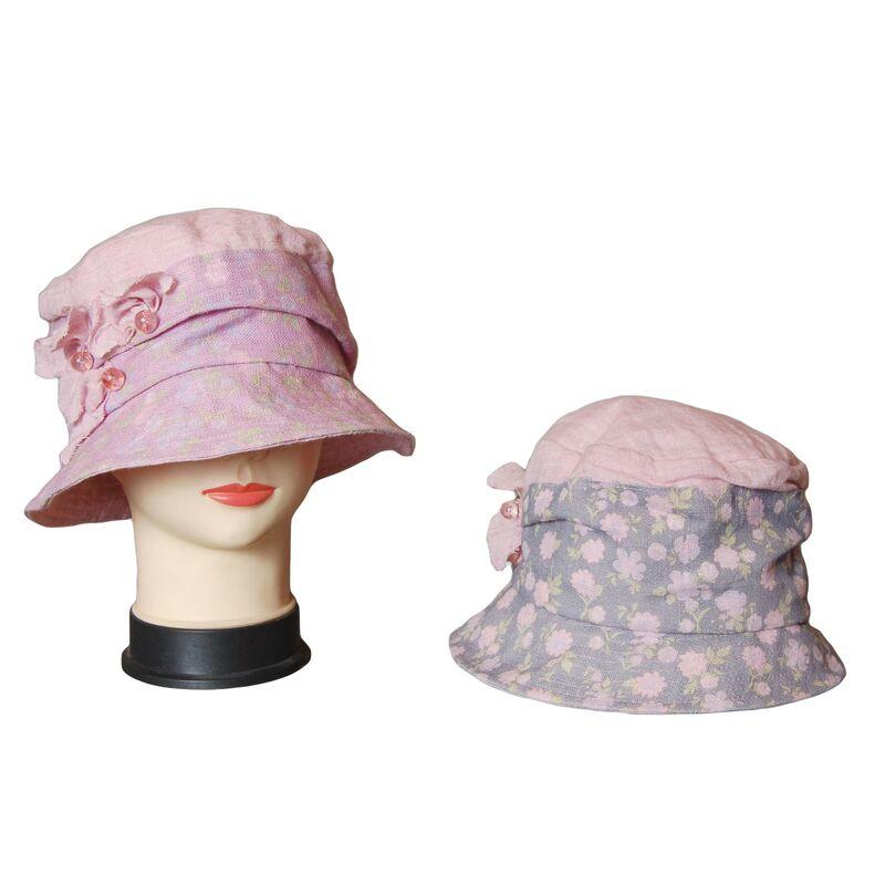 Элегантная тканевая шляпаизображение