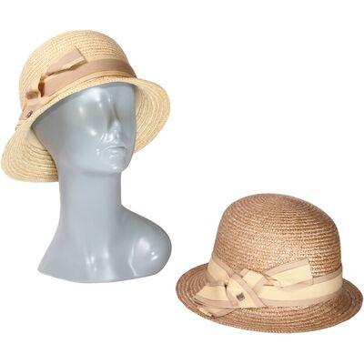 Шляпа шляпа в стиле ретро