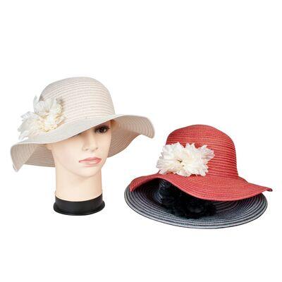 Шляпа летняя с украшением