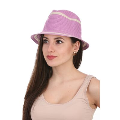 Шляпа летняя федора