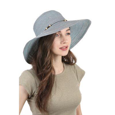 Шляпа летняя женская цвета морской волны