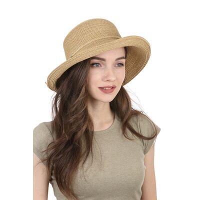 Шляпа женская коричневая